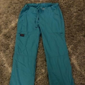 Cherokee scrub pants blue